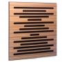 Купить акустическая панель ecosound ecowave zebrano 50x50см 33мм цвет крем по низкой цене
