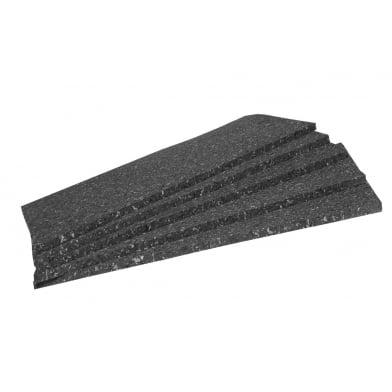 Акустическая плита Ecosound Macsound Prof 2мХ1 мХ20мм цвет графитно-черный