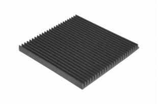 Панель из акустического поролона Ecosound VOLNA M 40мм, 50х50см цвет черный графит
