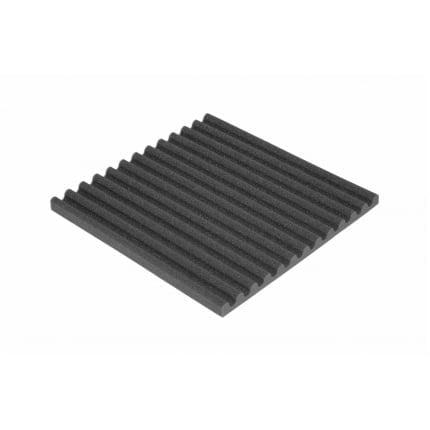 Превью Панель из акустического поролона Ecosound VOLNA-S 30 мм, 50х50см цвет черный графит