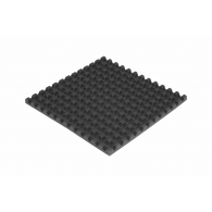 Шумоизоляция автомобиля  Off-Sound VOLNA 30мм, 50х50см цвет черный графит