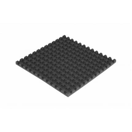Панель из акустического поролона Ecosound VOLNA 30мм, 50х50см цвет черный графит