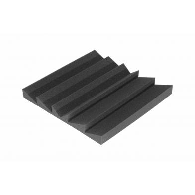 Купить панель из акустического поролона ecosound pin 50мм, 50х50см цвет черный графит по низкой цене