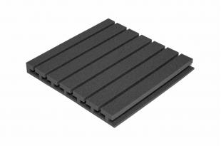 Панель из акустического поролона Ecosound TEE 50мм, 50х50см цвет черный графит