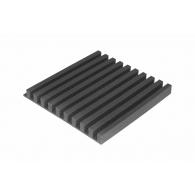 Панель из акустического поролона Ecosound COMB 50мм, 50х50см цвет черный графит