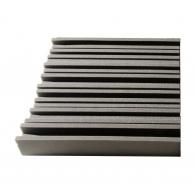 Панель из акустического поролона Ecosound Manhattan mini. 100 мм 0,6мх0,6м Цвет черный графит
