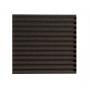 Купить панель из акустического поролона ecosound volna-s 30 мм, 50х50см цвет черный графит по низкой цене