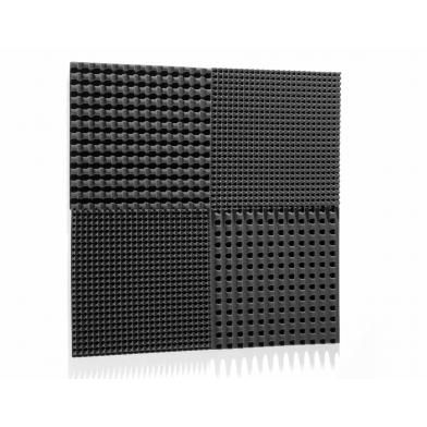 Купить шумоизоляция автомобиля  off-sound volna 30мм, 50х50см цвет черный графит по низкой цене