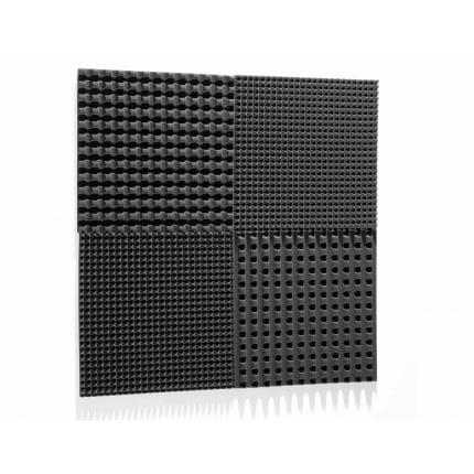Превью Панель из акустического поролона Ecosound VOLNA 30мм, 50х50см цвет черный графит