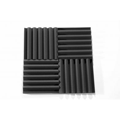Купить панель из акустического поролона ecosound darts 50мм, 50х50см цвет черный графит по низкой цене