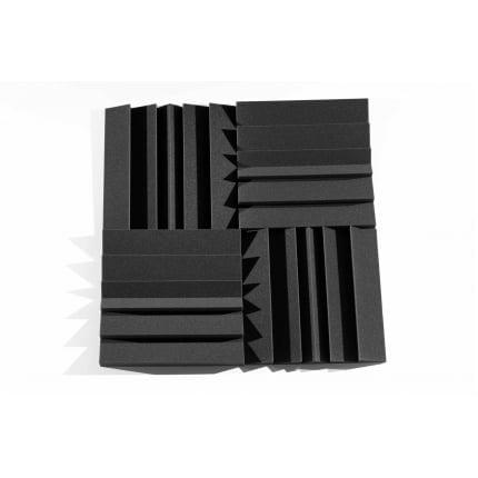 Панель из акустического поролона Ecosound PIN 50мм, 50х50см цвет черный графит