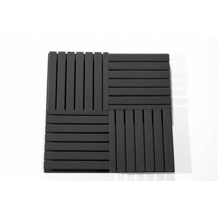 Превью Панель из акустического поролона Ecosound TEE 50мм, 50х50см цвет черный графит