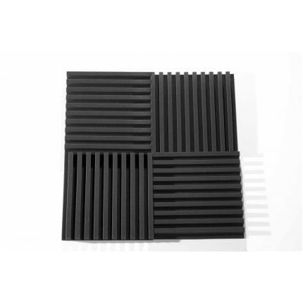 Превью Панель из акустического поролона Ecosound COMB 50мм, 50х50см цвет черный графит