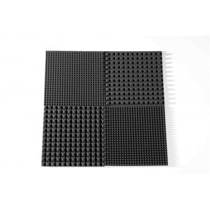 Превью Панель из акустического поролона Ecosound PYRAMID S 30мм, 50х50см цвет черный графит