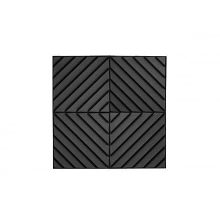 Акустическая панель Ecosound Acoustic Wave 70мм, 50х50см цвет черный графит