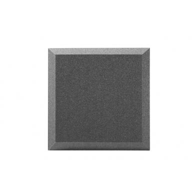 Купить панель из акустического поролона ecosound quadro 30мм, 50х50см цвет черный графит по низкой цене