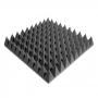 Превью Панель из акустического поролона Ecosound пирамида 90мм Mini, 0,5х0,5м черный графит
