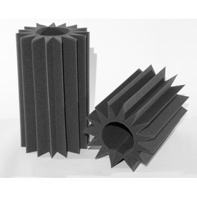 Купить бас ловушка ecosound пила(saw) 0,6х0,35х0,1 м цвет черный графит по низкой цене