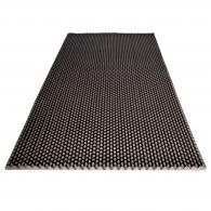 Ячеистый поролон волна Ecosound толщина 30мм,1мх2м Цвет черный графит