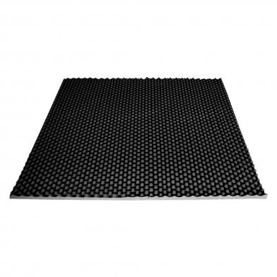 Купить ячеистый поролон волна ecosound толщина 30мм,1мх1м цвет черный графит по низкой цене