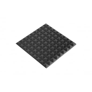 Купить панель из акустического поролона ecosound пирамида mini 30мм 45х45см черный графит по низкой цене