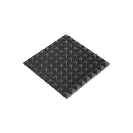 Панель из акустического поролона Ecosound пирамида 20мм Mini 45х45см Цвет черный графит