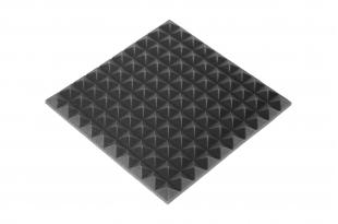 Панель из акустического поролона Ecosound пирамида 20мм Mini, 50х50см Цвет черный графит