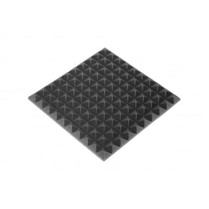Панель из акустического поролона Ecosound пирамидаMini,  30мм  0,5х0,5м черный графит