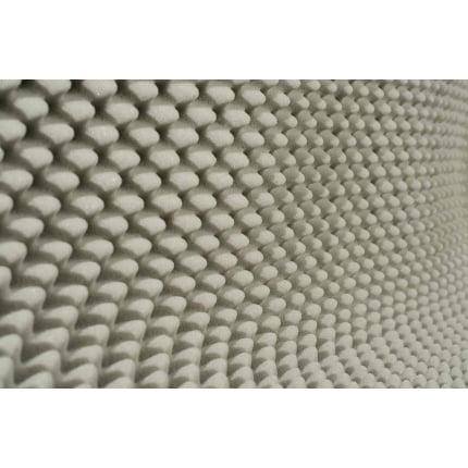 Ячеистый поролон волна Ecosound толщина 50мм,1мх1м Цвет светло-серый