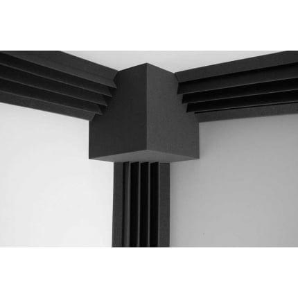Превью Бас ловушка Ecosound КУБ угловой 25х25х25 см Цвет черный графит