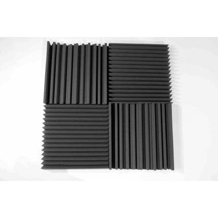 Превью Панель из акустического поролона Ecosound Manhattan mini. 100мм 50х50см Цвет черный графит