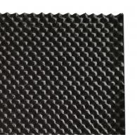 Акустическая плита Ecosound Macsound Prof волна 1мХ0,5мХ30мм-цвет графитно-черный