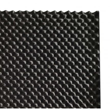 Акустическая плита Ecosound Macsound Prof волна 1мХ1мХ30мм-цвет графитно-черный