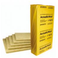 Акустическая минеральная вата AcousticWool  Glass Floor толщина 20мм-плотность 120 кг/м3  1мх0,6м (6,0 м2 /упак.) цвет светло-желтый