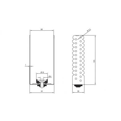 Купить антивибрационные универсальное крепления-vibrofix protector по низкой цене