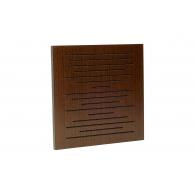 Акустическая панель Ecosound EcoPulse brown 50х50 см 33мм Коричневый