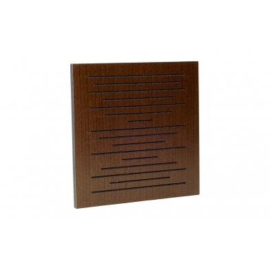Купить акустическая панель ecosound ecopulse brown 50х50 см 33мм коричневый по низкой цене