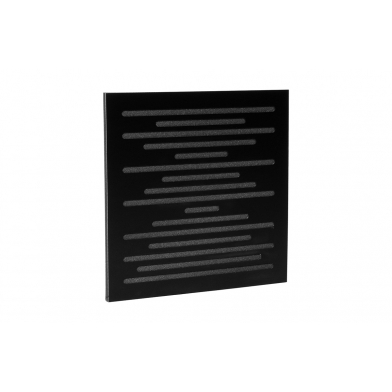 Купить акустическая панель ecosound ecowave black 50х50 см 33мм черный по низкой цене