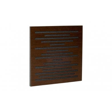 Купить акустическая панель ecosound ecowave brown 50х50 см 33мм коричневый по низкой цене