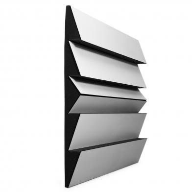 Купить акустический рассеиватель диффузор ecosound pindiff rock white 53мм 50х50 см цвет белый по низкой цене