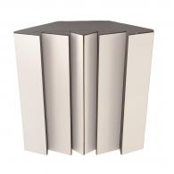 Басовая ловушка PINDIFF Rock 500х500х200 мм цвет белый