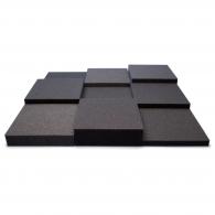 Панель из акустического поролона Ecosound Pattern Black 60мм, 60х60см цвет черный