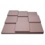 Панель из акустического поролона Ecosound Pattern light gray 60мм, 60х60см цвет светло-серый