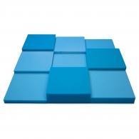 Панель из акустического поролона Ecosound Pattern Blue 60мм, 60х60см цвет синий