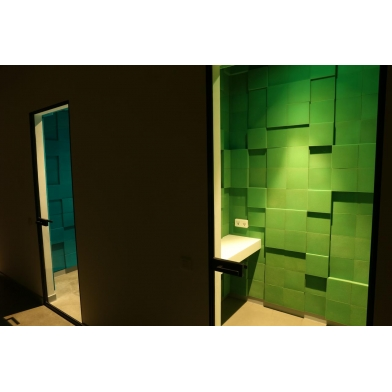 Купить панель из акустического поролона ecosound pattern velvet 60мм, 60х60см цвет синий по низкой цене
