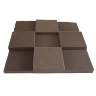 Панель из акустического поролона Ecosound Pattern 50мм, 50х50см цвет черный
