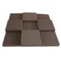 Купить панель из акустического поролона ecosound pattern 50мм, 50х50см цвет черный по низкой цене