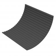 Акустический поролон Ecosound Пила 15мм 1х1м черный графит