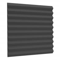 Акустический поролон Ecosound Пила 25мм 50х50см черный графит