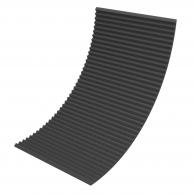 Акустический поролон Ecosound Пила 30мм 2х1м черный графит